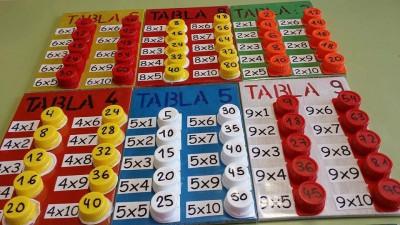 Súper idea DIY para aprender las tablas de multiplicar (1)