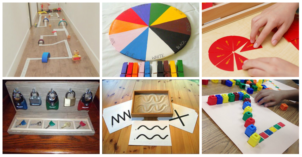 Materiales Educativos Montessori Diy Ideales Para Trabajar En Casa Y