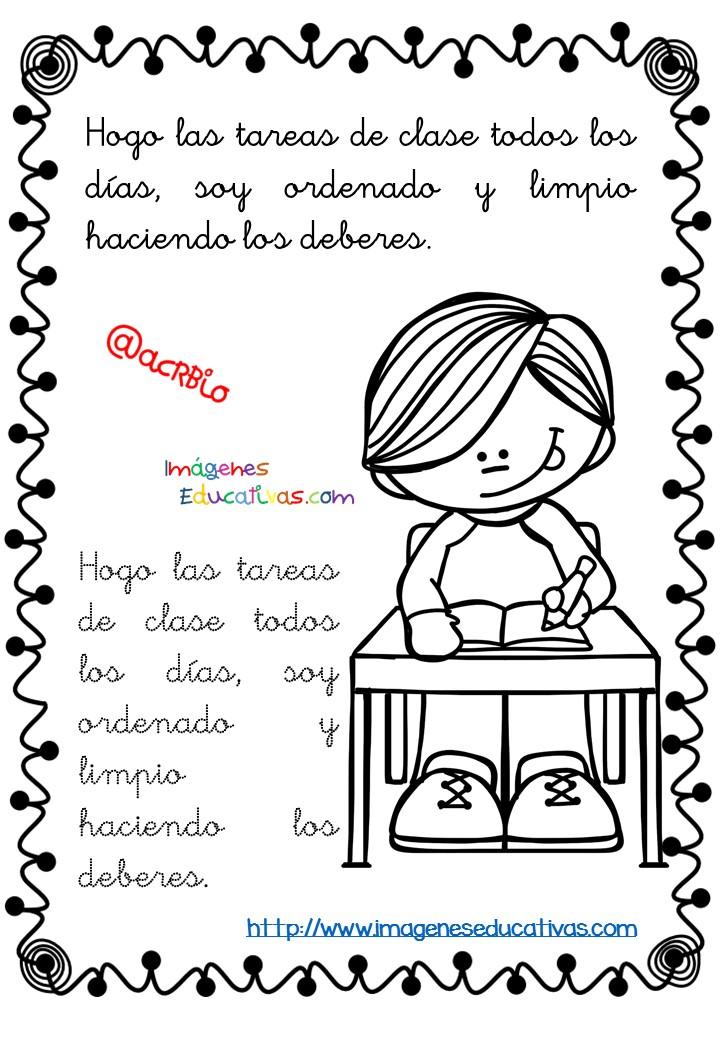 Rutinas libro para colorear y aprender (11) - Imagenes ...