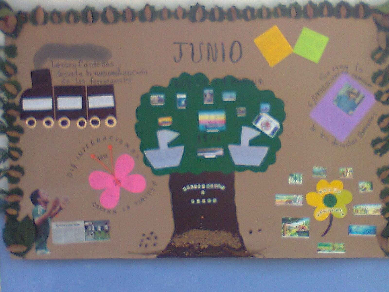 Peri dico mural mes de junio 2 imagenes educativas for Como elaborar un periodico mural