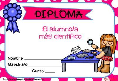 Diplomas FIN DE CURSO para premiar actitud y las capacidades (15)