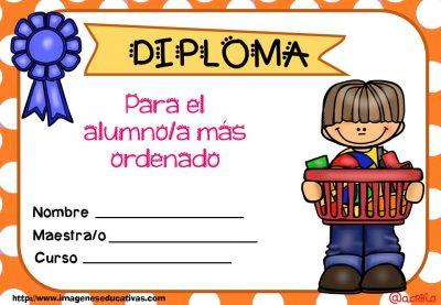 Diplomas FIN DE CURSO para premiar actitud y las capacidades (2)