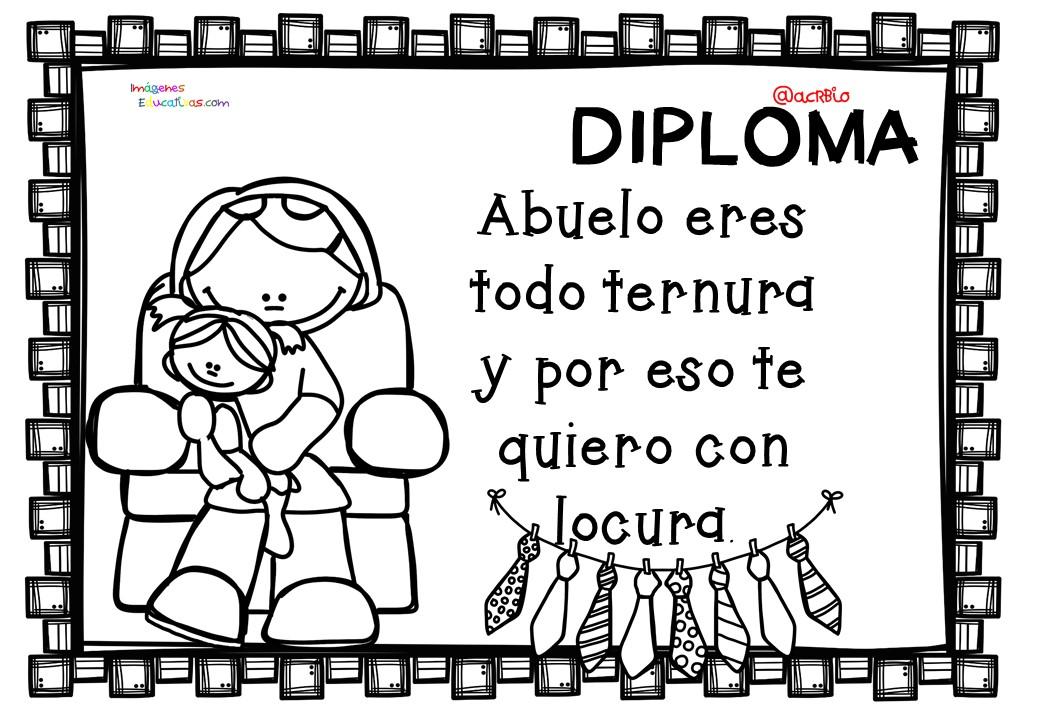 Celebramos el DÍA DEL PADRE con una Colección de diplomas para ...