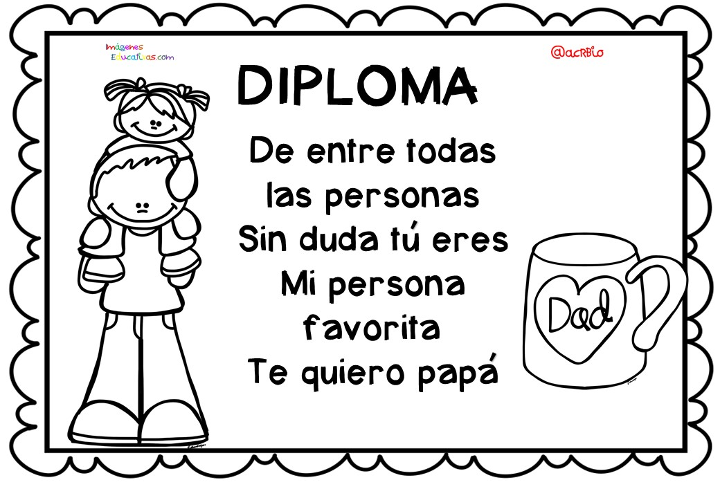 Diplomas da del Padre 8  Imagenes Educativas