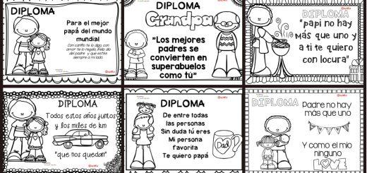 Diplomas día del Padre PORTADA
