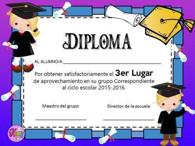 Diplomas de graduación (1)