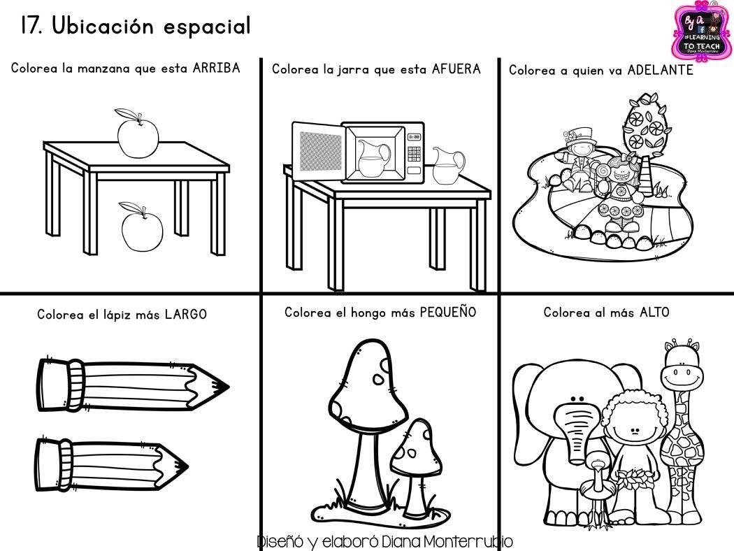 Fichas examen dificultad MEDIA infantil y preescolar (17) - Imagenes ...