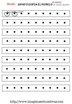 Grafomotricidad en pauta de cuadritos (3)