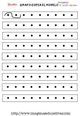 Grafomotricidad en pauta de cuadritos (6)