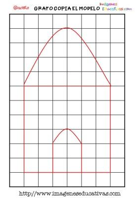 Grafomotricidad en pauta de cuadritos (8)