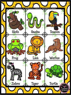LOTERÍA DE ANIMALES  (25)