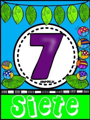 Carteles Números 1 al 10 (7)