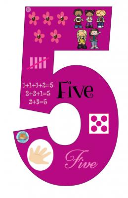 Carteles con los números (6)