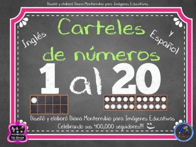 Carteles para trabajar los Números (1)