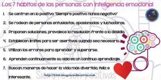 Los 7 hábitos de las personas con inteligencia emocional-