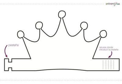 Coronas Para Decorar Cuadernos.Coleccion De Ideas Para Coronas De Cumpleanos Plantillas Y