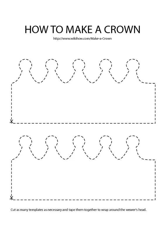 Coronas Para Decorar Cuadernos.Moldes Y Plantillas Coronas De Cumpleanos 9 Imagenes