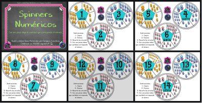 Spinners numéricos trabajamos el conteo PORTADA