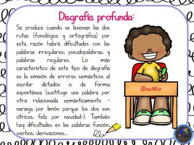 TIPOS DE DISGRAFÍA (7)