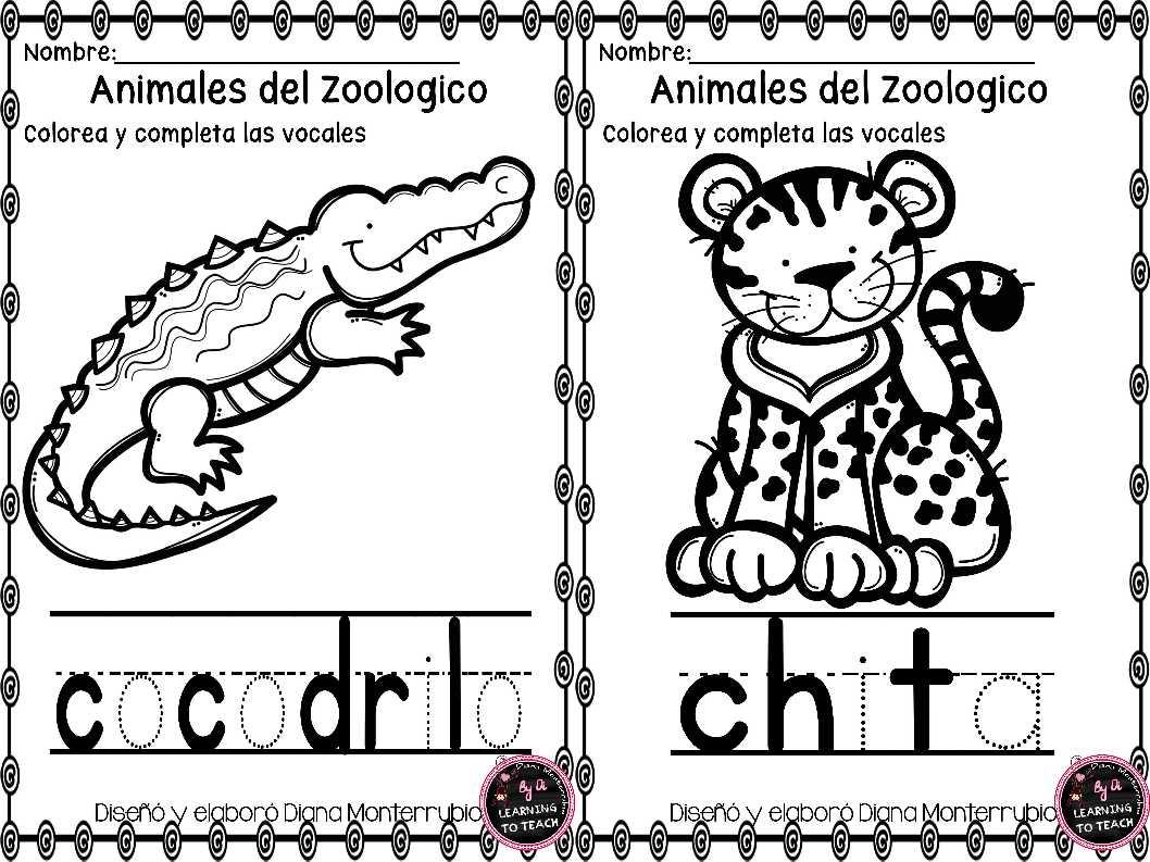 actividades-animales-de-zoologico-12 - Imagenes Educativas