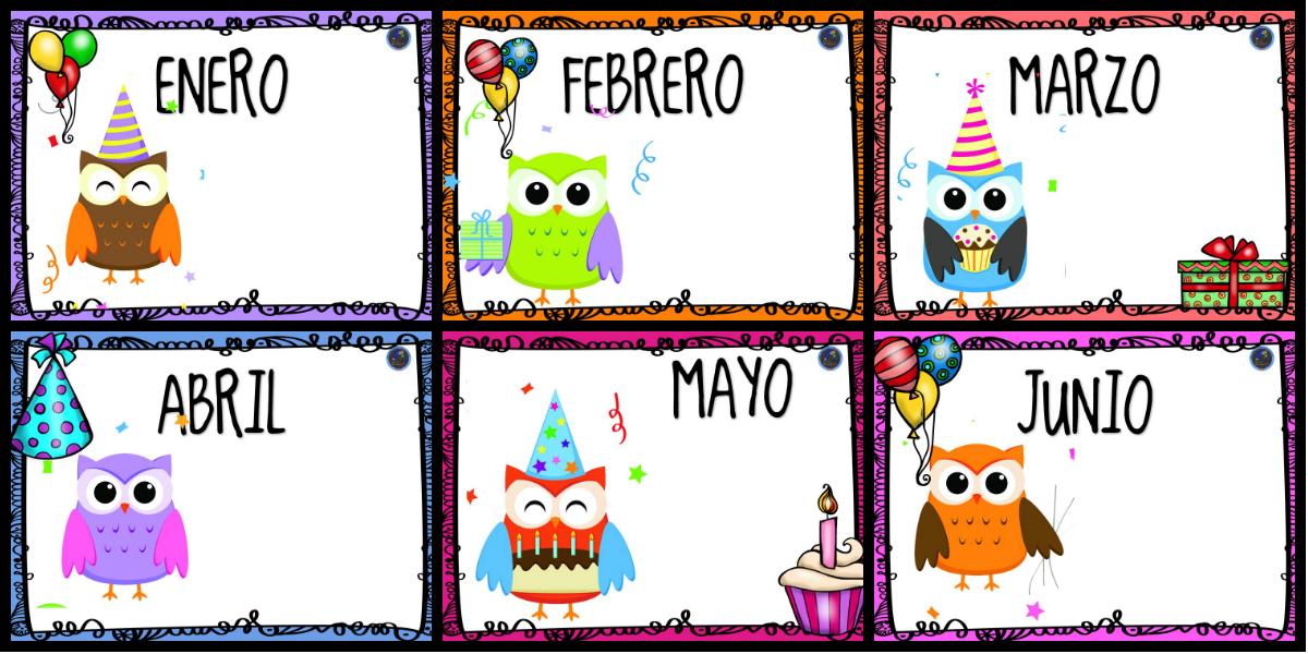 Carteles cumpleaños imprimibles: Plantillas rincón del cumpleaños ...