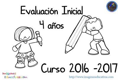 Evaluación inicial 4 años 2016-2017 (1)