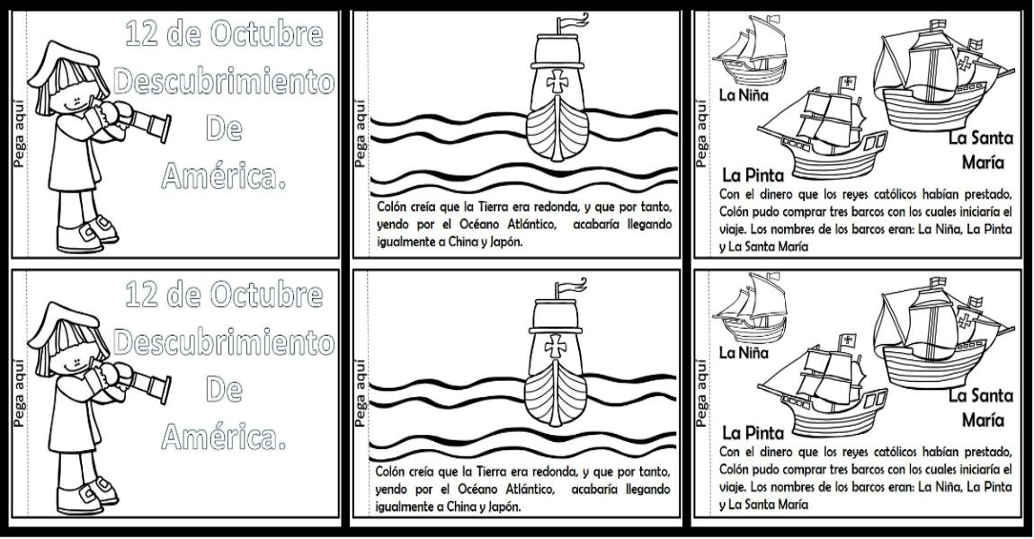 Libro Interactivo Descubrimiento De América Cristobal Colón