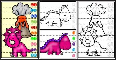 puzles-de-dinosaurios-para-repasar-los-numeros-portada