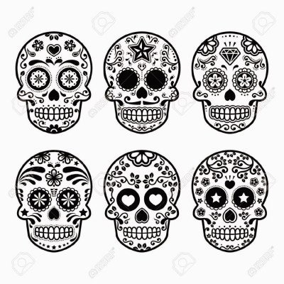 calaveras y catrinas para colorear el d a de los muertos imagenes educativas. Black Bedroom Furniture Sets. Home Design Ideas
