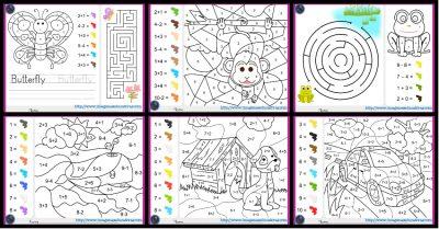 fichas-de-matematicas-para-sumar-y-colorear-dibujo-portada