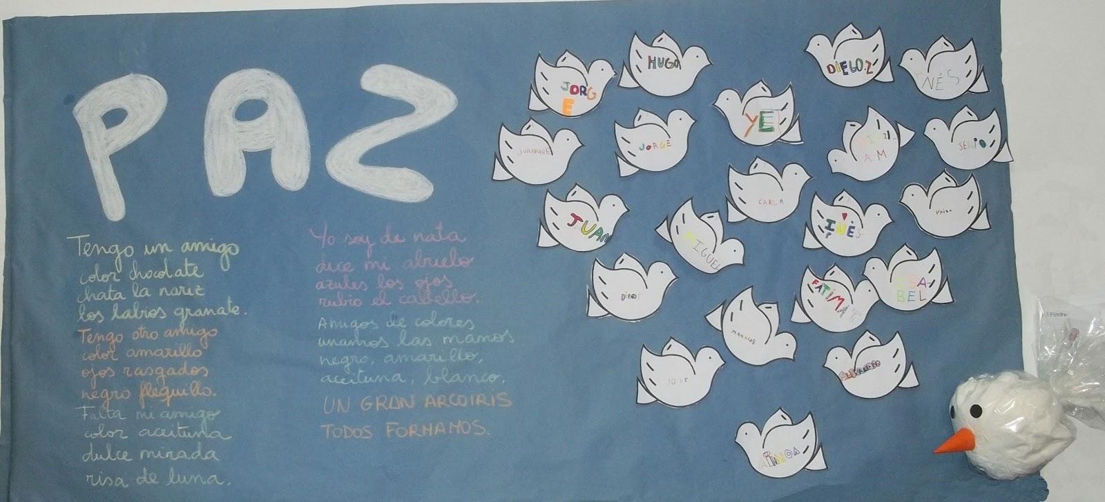 Murales d a de la paz 20 imagenes educativas - Murales pintados en la pared ...