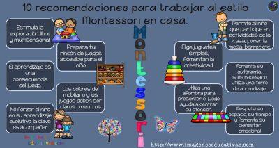 10 recomendaciones para trabajar al estilo montessori en - Juegos de recoger casas ...