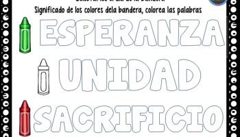 Historia de la bandera mexicana infografas 24 de febrero da de