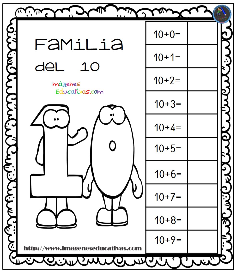 Aprendemos La Familia De Los Números Imagenes Educativas