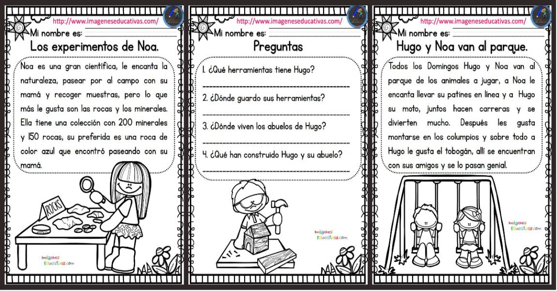 Lecturas comprensivas para Primaria, nuevas y originales - Imagenes ...