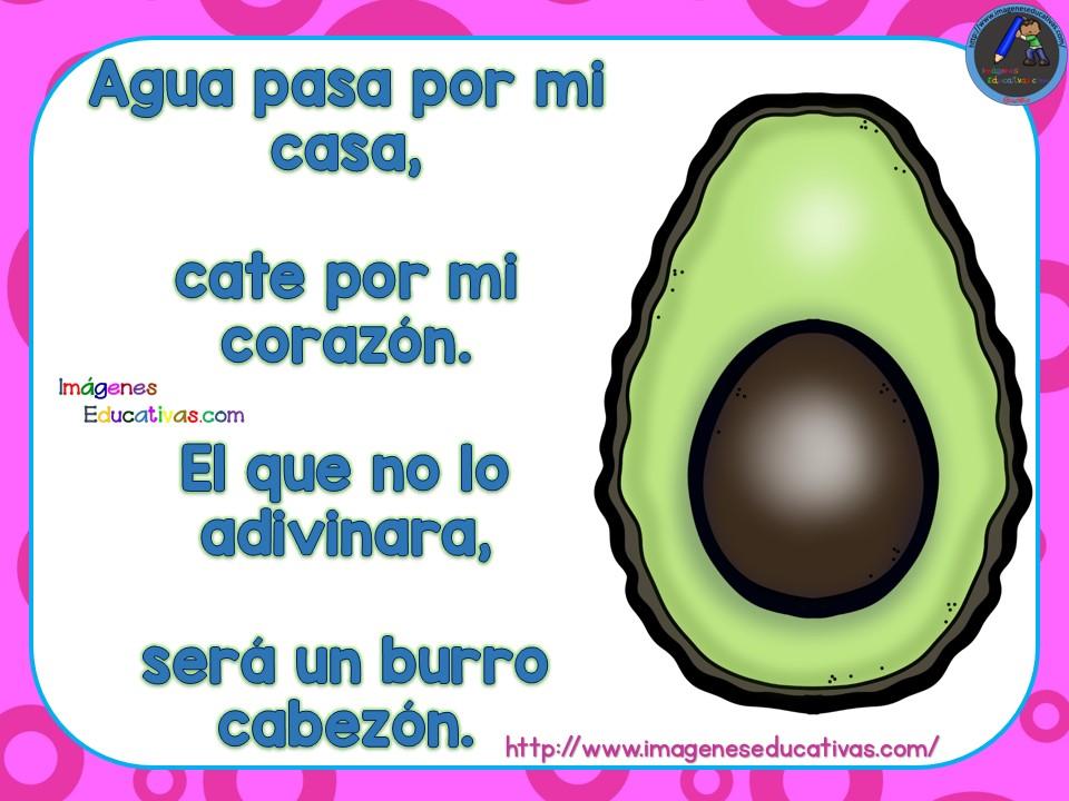 Adivinanzas de frutas (3) - Imagenes Educativas