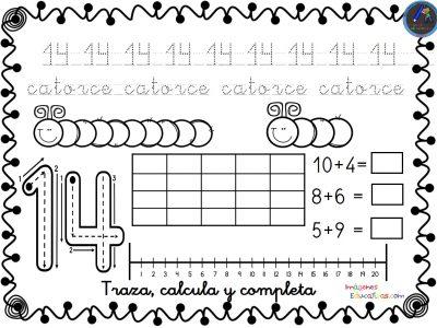 Colección De Fichas Para Trabajar Los Números Del 1 Al 30 Imagenes