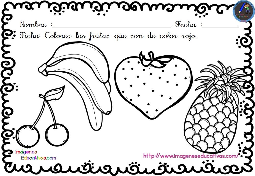 Único Colorear Crayón Rojo Para Colorear Bosquejo - Dibujos Para ...