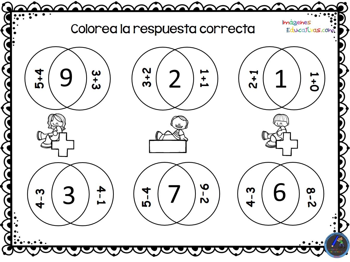 Fichas para practicar la suma y las resta (4)
