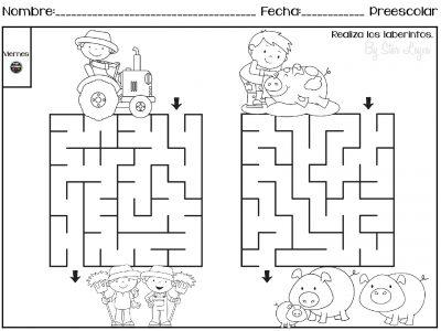 Actividades Para Repasar En Vacaciones Preescolar Y Primer Grado Imagenes Educativas