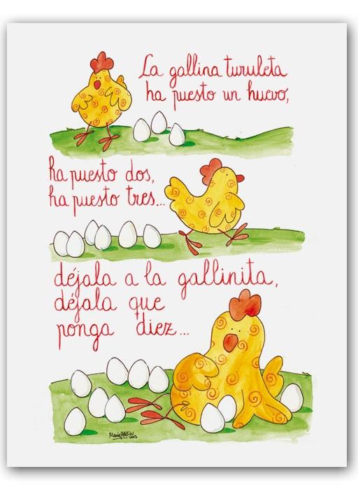 Canciones infantiles 1 imagenes educativas - Letras infantiles para puertas ...