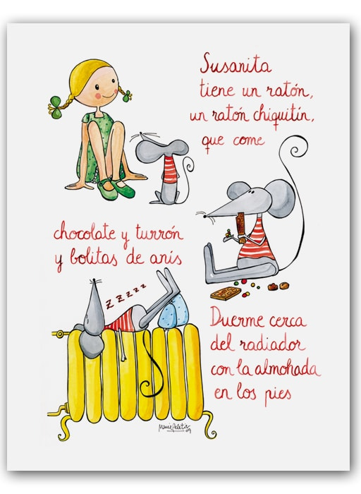 Canciones infantiles 9 imagenes educativas for Cancion en el jardin