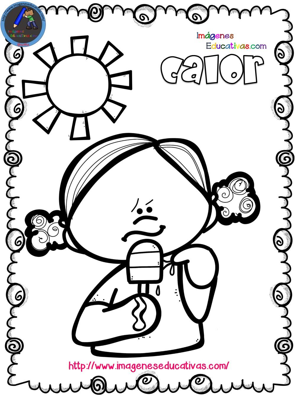 Mi libro para colorear en verano (8) - Imagenes Educativas