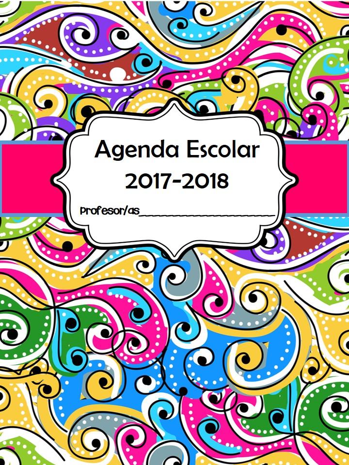Agenda escolar 2017 2018 2 imagenes educativas - Agenda imprimible 2017 ...