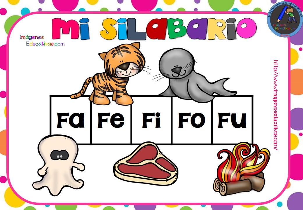 Imagenes Educativas Para Descargar: SILABARIO IMÁGENES EDUCATIVAS (5)