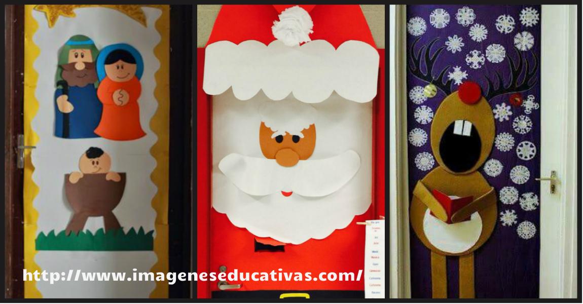 Puertas navidad portada imagenes educativas for Decoracion puertas navidad