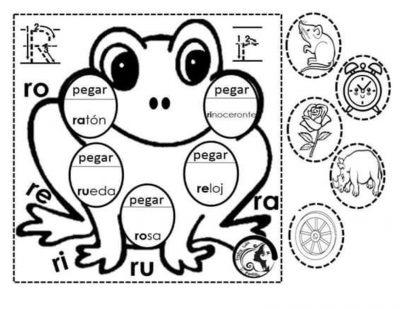 Material interactivo para trabajar las sílabas para preescolar y ...
