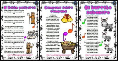 Villancicos Canciones De Navidad Imagenes Educativas
