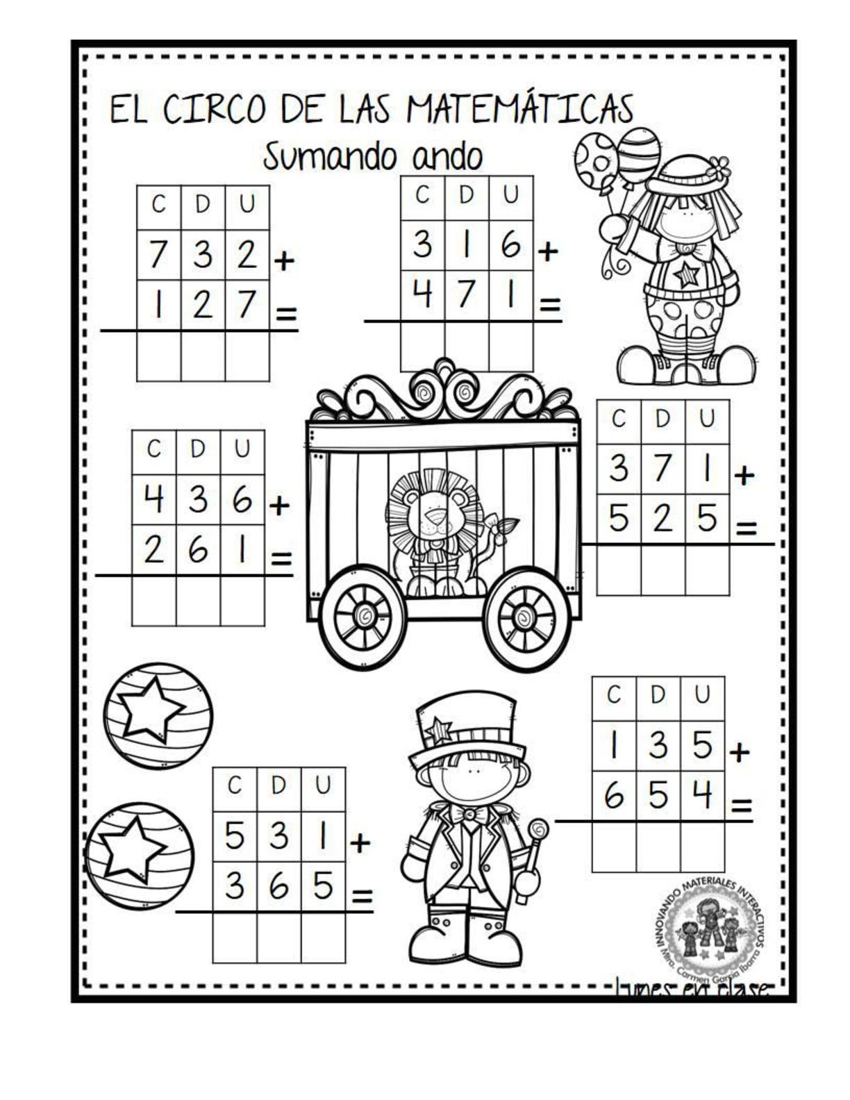 El circo de las matemáticas (20) - Imagenes Educativas