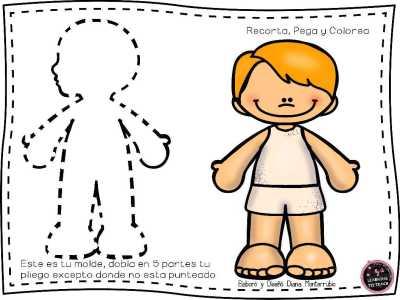 Actividades Para Trabajar El Cuerpo Humano En E Infantil Y E